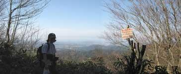 仏ヶ山から鳥取を望む