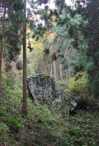 宮座山,帆立岩