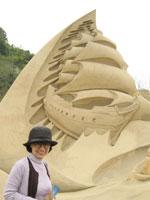 鳥取砂丘 砂像フェス2