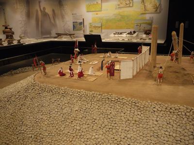 西谷三号墳 ジオラマ 弥生の森博物館